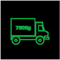 Xe tải 750Kg