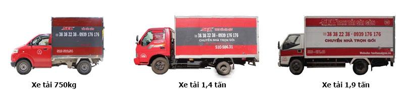 các loại xe tải 1